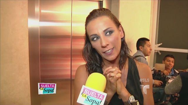 Consuelo Duval entre risas y lágrimas (VIDEO)