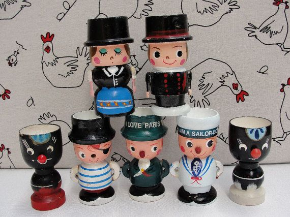561 Best Vintage Eggcups Images On Pinterest Egg Cups