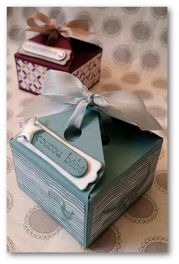 """Boîte carrée : J2 des 15 jours de """"l'Envelope Punch Board""""...[Tutoriel]"""