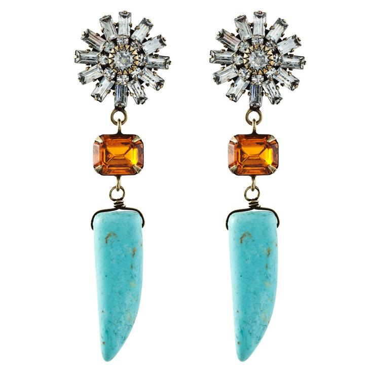 dannijo estrella earrings: Bling, 320 Dannijo Com, Dannijo Estrellas, Style, Dannijo Earrings, Jewelry, Accessories, Accessorizing, Estrellas Earrings
