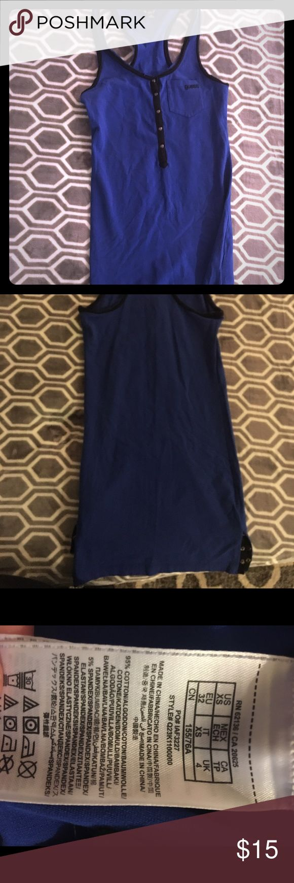 Guess dress size extra small Racerback guess dress size extra small worn once in great condition. Can not model sorry too small for me Guess Dresses
