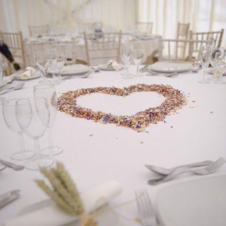 fields of ideas confetti natural petal confetti rose petals wedding confetti