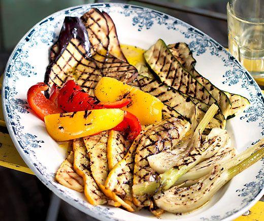 Verdure alla griglia (Grilliertes Gemüse) | Betty Bossi