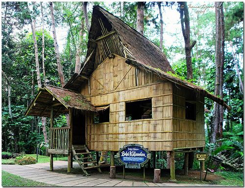 Traditional southern philippines house