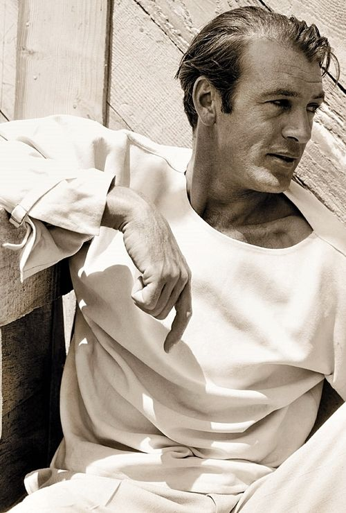 Gary Cooper, 1934, photo by George Hoyningen-Huene. One of my favorite pictures of Coop.