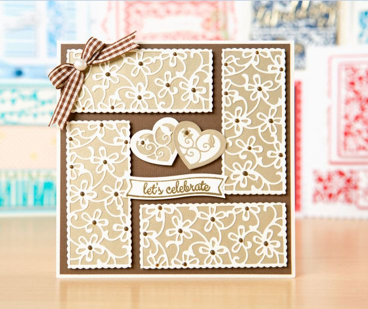 Card Making Invitations Ideas Part - 17: Beautiful Invitation Made Using The @tonicstudiosuk Invitation Die Set! / Party  Invitations / Wedding
