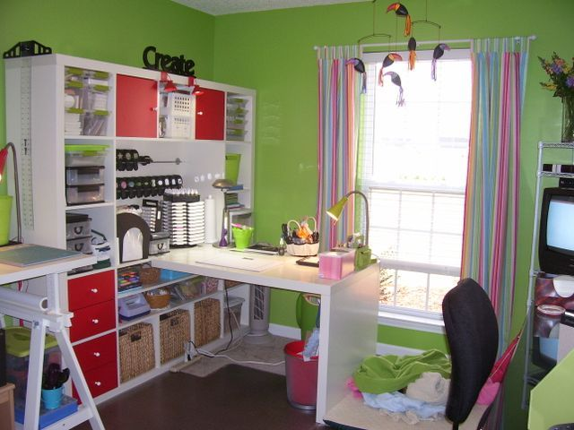 Great Sewing Room - Ikea again
