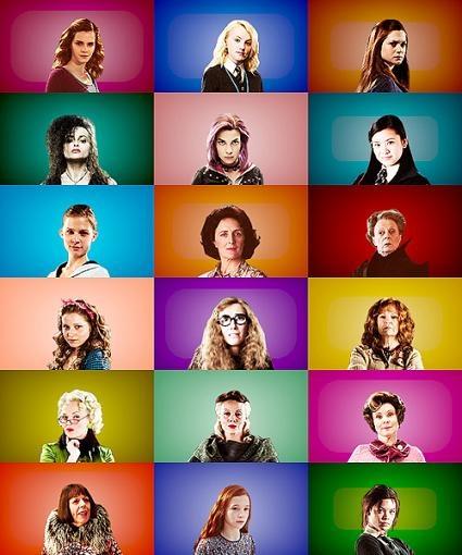 Ladies of Harry Potter