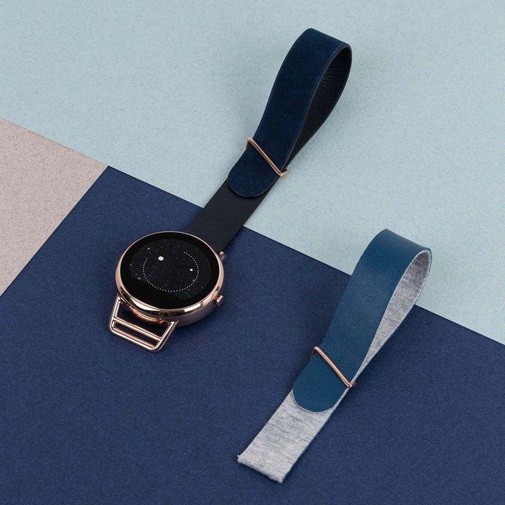 J'ai actuellement une montre casio, mais là il s'agit d'une montre connectée Shammane, que je trouve très élégante. Peu importe la couleur du bracelet, mais je pense que bleu sera plus facile à porter.