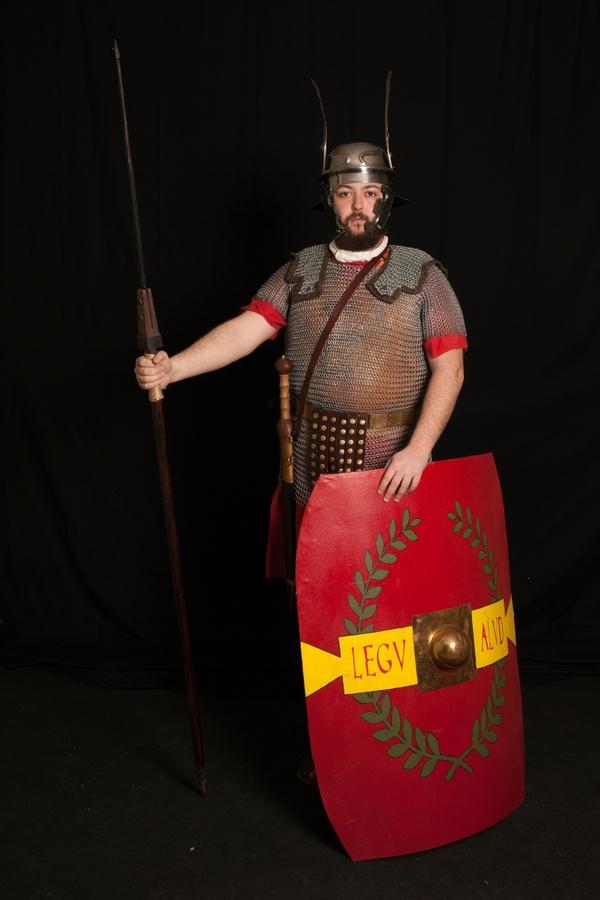 Infantería romana