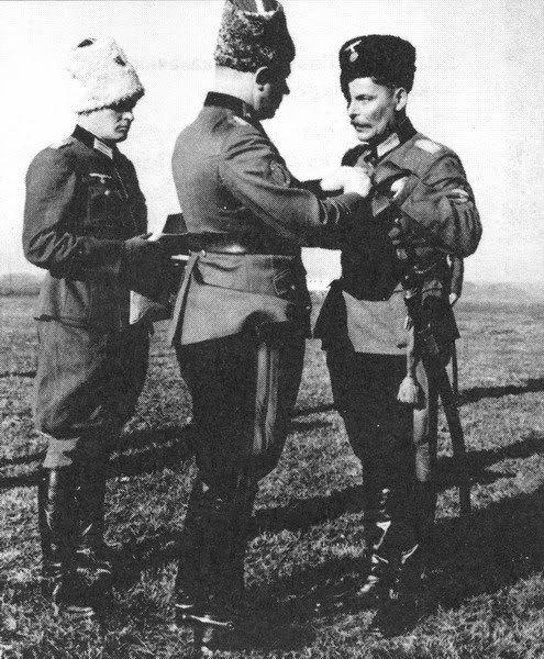 Wehrmacht cossacks commanders