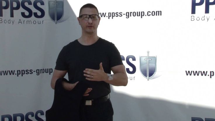 PPSS Bullet Resistant Vests - Watch Robert Kaiser, PPSS CEO, as he is shot by a bullet from a Glock 19 pistol - demonstrating the effectiveness of his company's body armour
