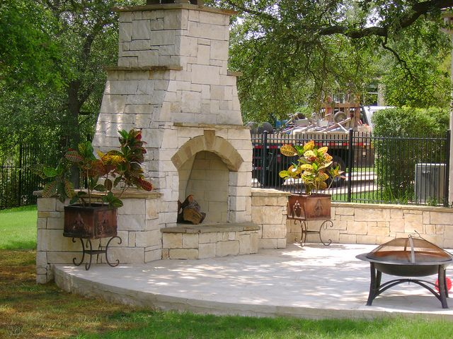 17 Best images about Outdoor Kitchen u0026 Fireplace on Pinterest | Stainless steel appliances ...