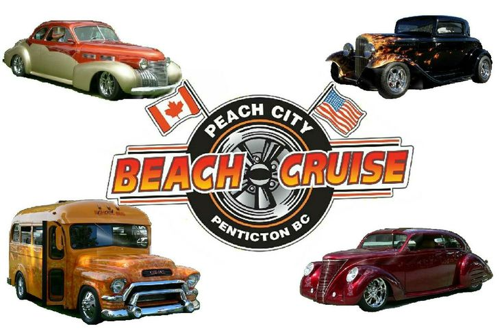 Peach City Beach Cruise, Penticton BC