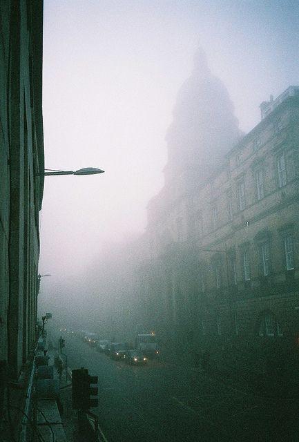 Edinburgh Fog from my bedroom window, 8am / by Joe Skilton