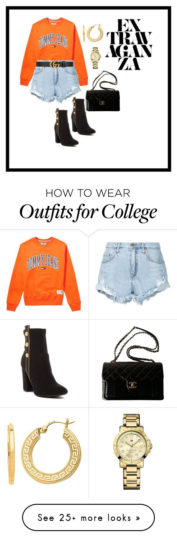 """""""EXTRAVAGANZA"""" by sos-qud on Polyvore featuring Tommy Hilfiger, Nobody Denim, Gucci, BillyTheTree and Chanel"""