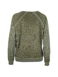 Afbeeldingsresultaat voor groene trui dames dierenprint
