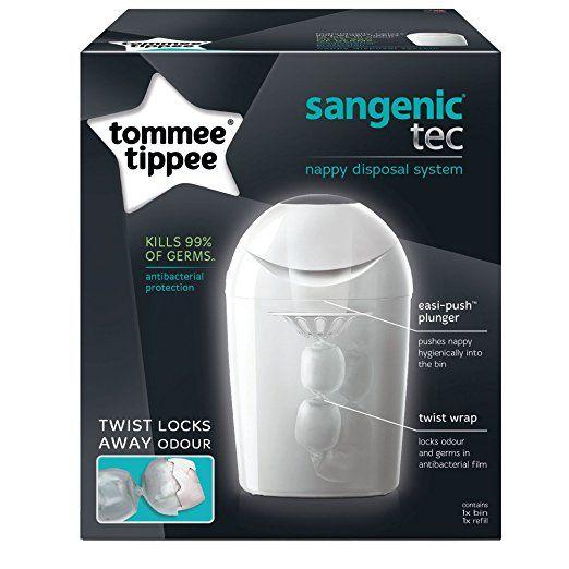 Amazon.com: Tommee Tippee Sangenic Tec Diaper Pail: Baby