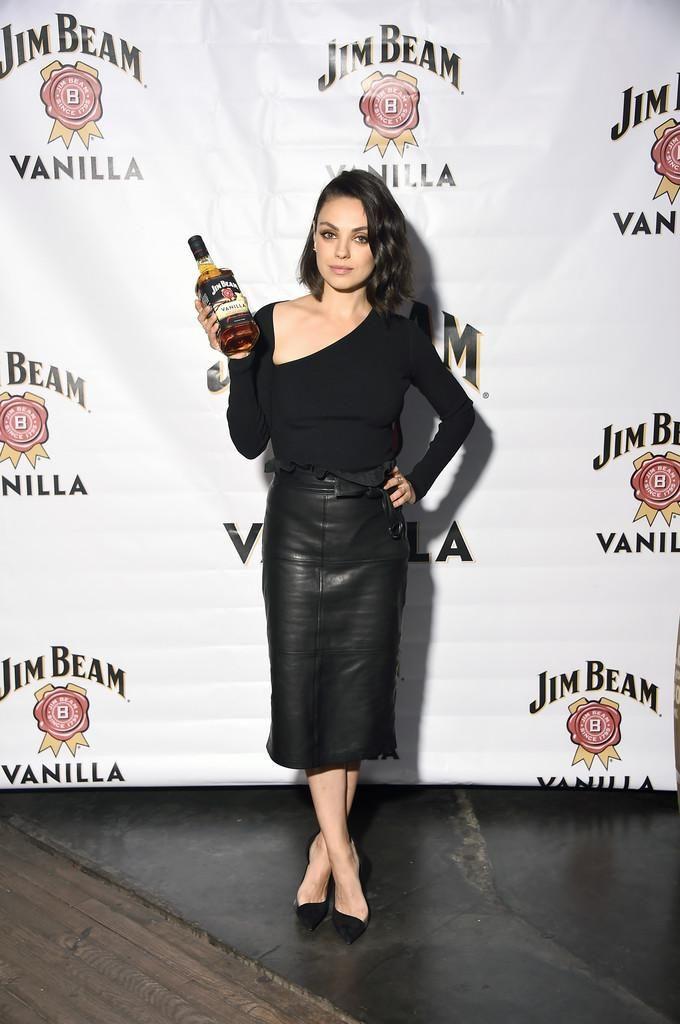 Mila Kunis Jim Beam Vanilla Launch September 25, 2017 ...