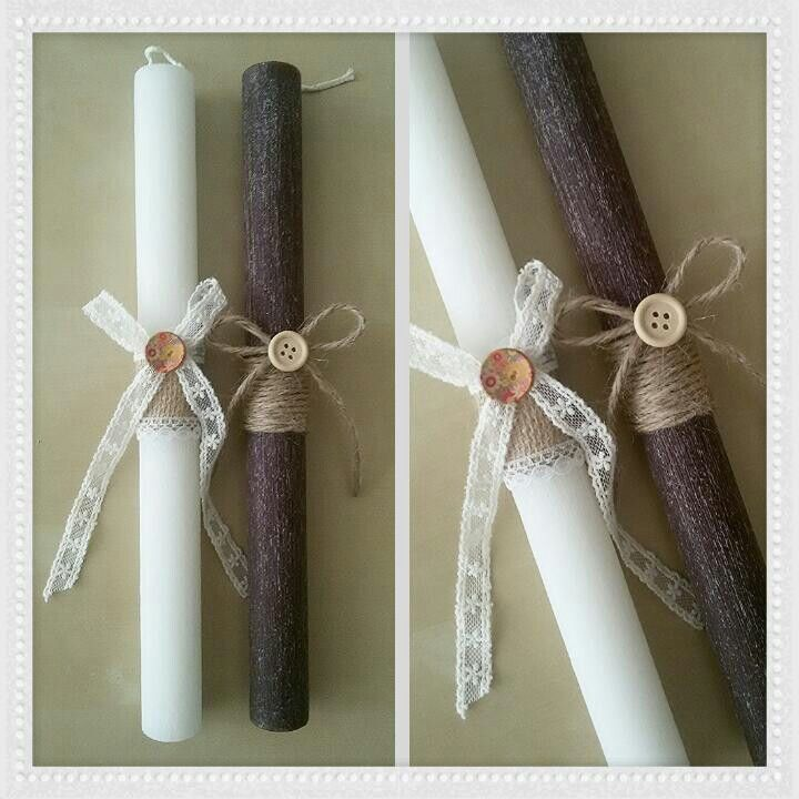 Easter candle by Stella Handcrafts. Λαμπάδα. Πασχαλινές Λαμπάδες by Stella Handcrafts.