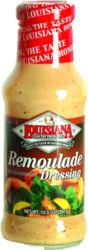 Remoulade Sauce - The very best!!!!!!.  you can buy at Publix and maybe Walmart.  Make Shrimp Remoulade Salad with iceberg lettuce and shrimp topped with this dressing/sauce