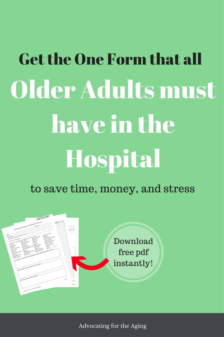 Best Paperwork  Medical Forms For The Elderly Images On