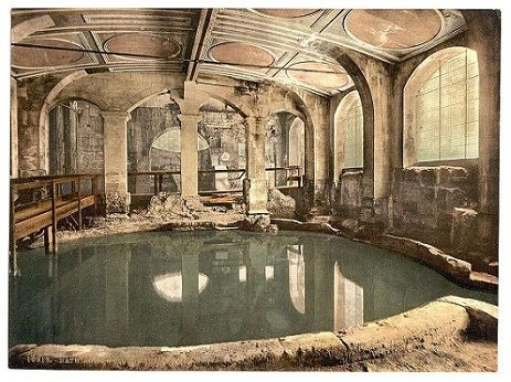 se relajaban, masajes con aceites y lugares tipo saunas