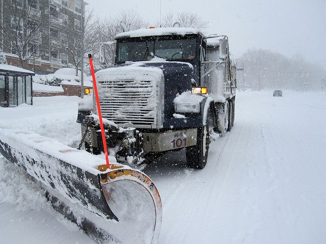 Snow Plow | Snow plow crews struggled to clear main roads in… | Flickr