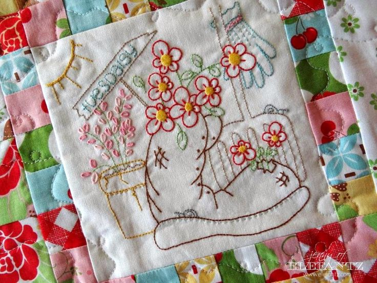 156 Best Jenny Of Elefantz Embroidery And Quilting Images On