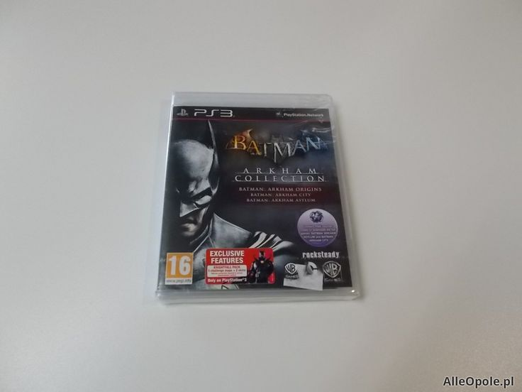 Batman arkham collection - GRA Ps3 - Opole 0447 (Opole)