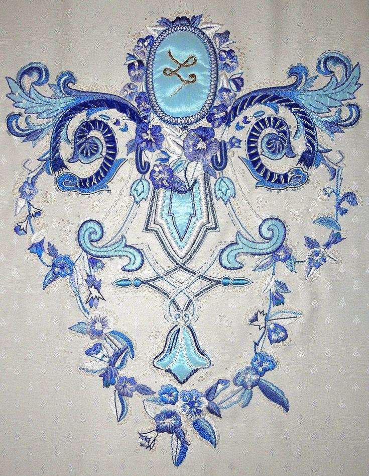 LORENAD Haute Couture, broderie d'art, ameublement chez Lesage
