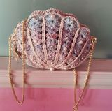 Shereo's crochet pattern of romantic pearl shell shoulder bag – SHEREO CROCHET FACTORY