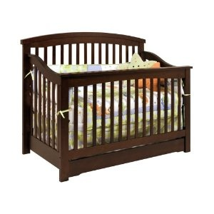 Davinci Harmony 4 in 1 Convertible Crib with Under Drawer, Espresso (Baby Product)  http://postteenageliving.com/amazon.php?p=B0046RDVZO