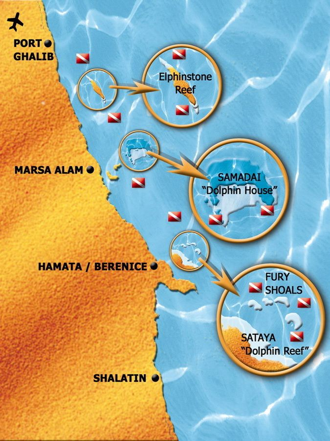 Marsa Alam Zuiden - Hamata - Egypte