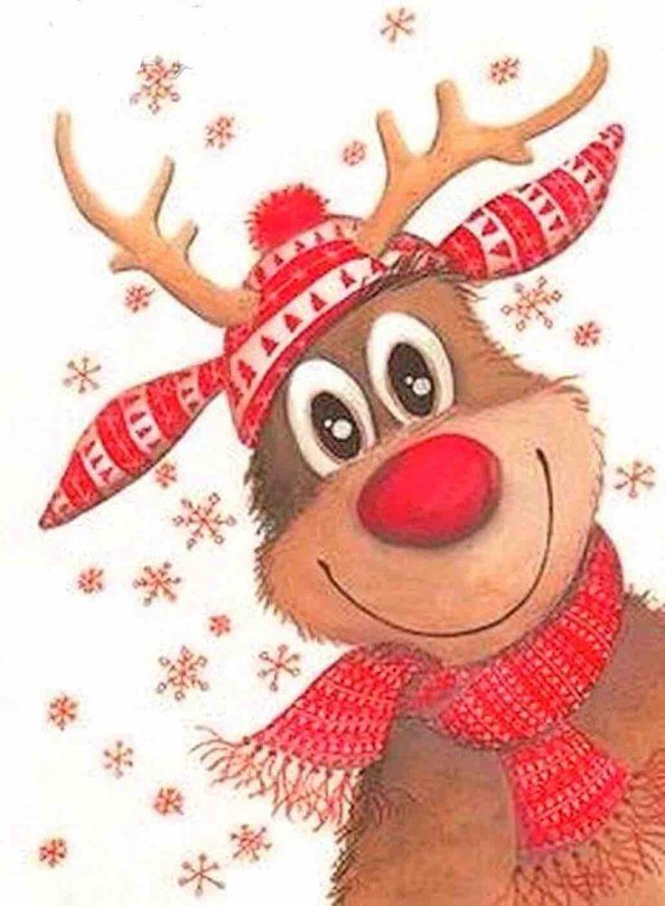Смешные и красивые рисунки на новый год, утро картинки для
