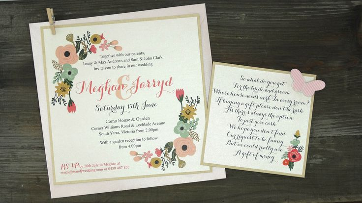 How cute is this vintage invitation and gift card?  We have used DIYI Kraft Cardstock with DIYI Pearl Chardonnay Paper.  Add a mini peg and matching envelope for the perfect vintage look.