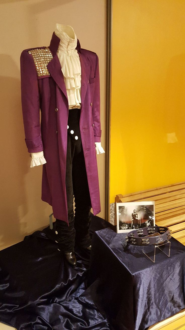 PRINCE'S PURPLE RAIN COSTUME