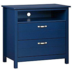Media Dresser in Blue Finish