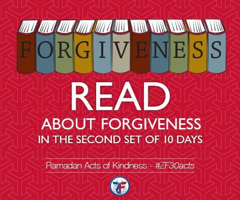 Day 11: Read about forgiveness in the second set of 10 days #ZF30Acts
