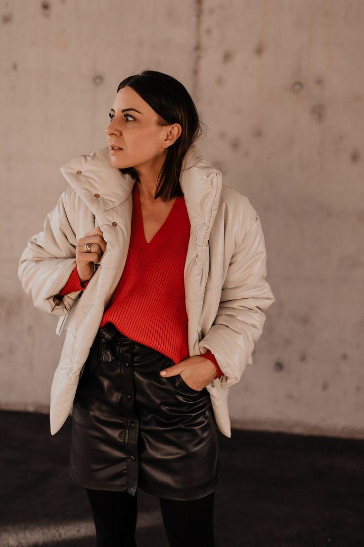 anzeige lederrock kombinieren mytheresa shopping winter outfit