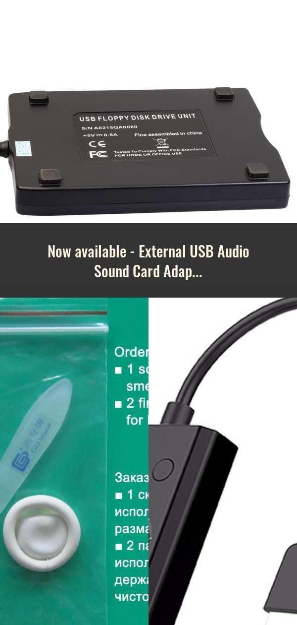External USB Audio Sound Card Adapter 7 1 Virtual Channel