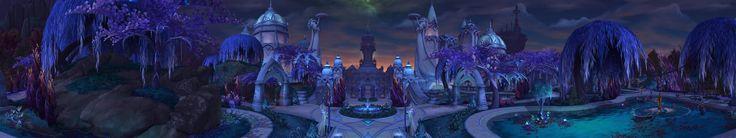 Just got my Sandbox server setup to make Panoramas of Legion zones! First one so far: Suramar City 7680x1440p for triple monitors! #worldofwarcraft #blizzard #Hearthstone #wow #Warcraft #BlizzardCS #gaming