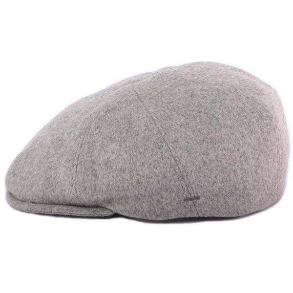 Casquette Plate Grise Seddon par Bailey Le style Bailey sur Hatshowroom.com #casquette #chapeau #bonnet