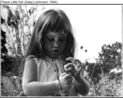 1964 The Living Room Candidate Museum Of Moving Image Livingroomcandidateorg Commercials Peace Little Girl Daisy Campaign Ads