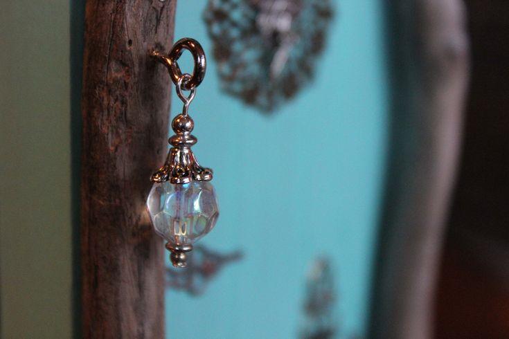 waterdrop aqua blue fairy door, lantern