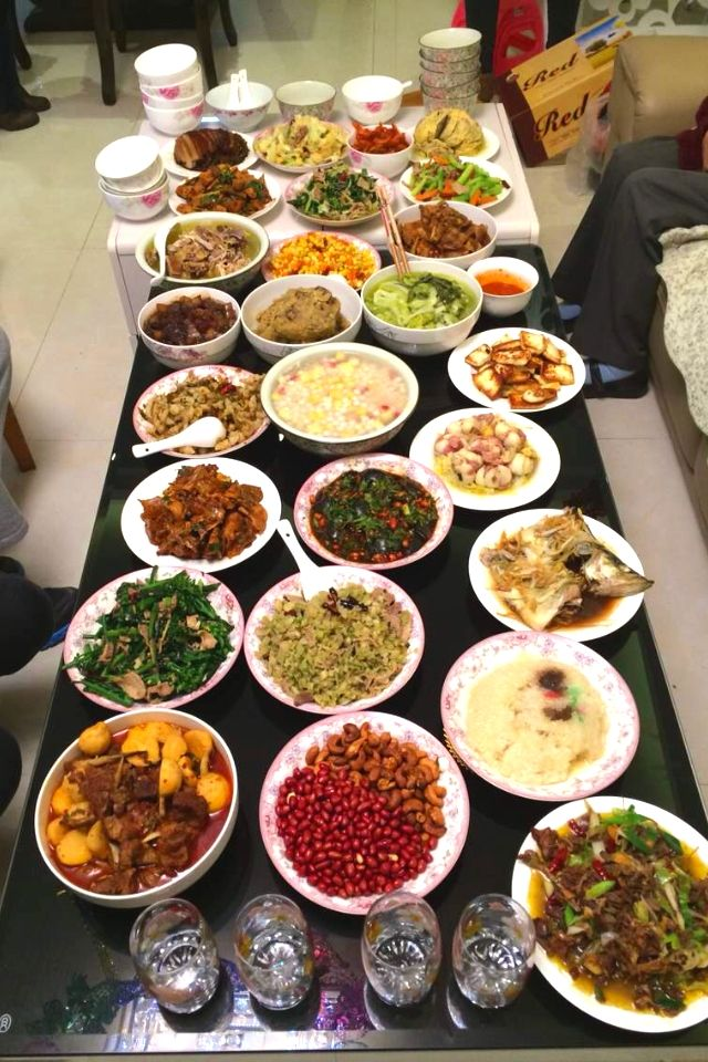131 best chinese new year foods images on pinterest chinese new reunion dinner at chinese new year eve fleur m in kunming forumfinder Image collections