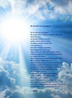 Se mi ami - Sant'Agostino