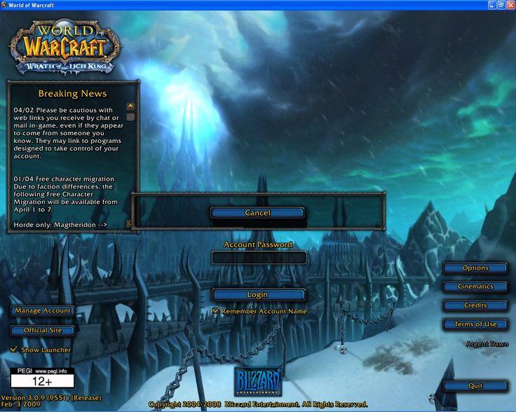 Remember trying to login before the dragon appe- SCRRRRWWWAAAAAR! #worldofwarcraft #blizzard #Hearthstone #wow #Warcraft #BlizzardCS #gaming