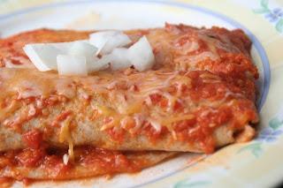 Light Chicken Enchiladas | Tales from the Mad Men Kitchen | Pinterest