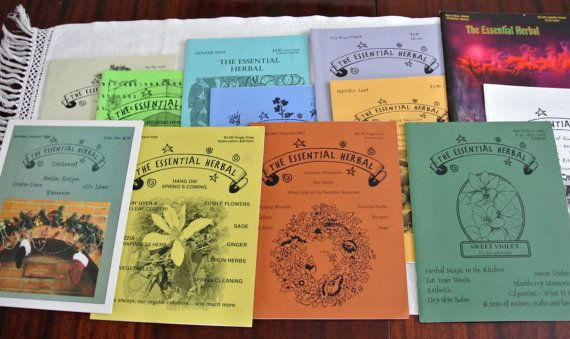 Retro-The Essential Herb Magazine Bundle of by LongTallSallys